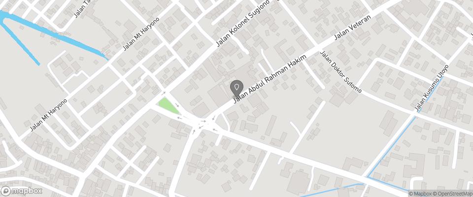 Map for The Gecho Inn Town