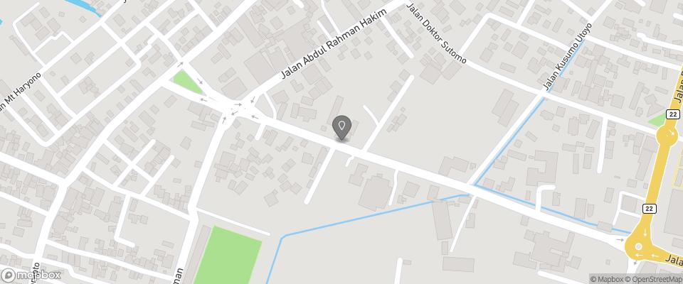 Map for Syailendra Hotel