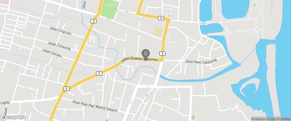 Map for Hotel Blambangan