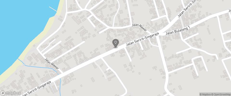 Map for Hotel Rattan Resto
