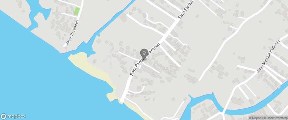 Map for Lautan Kupu Kupu Villa