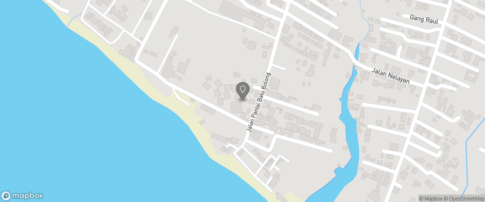 Map for Hotel Tugu Bali