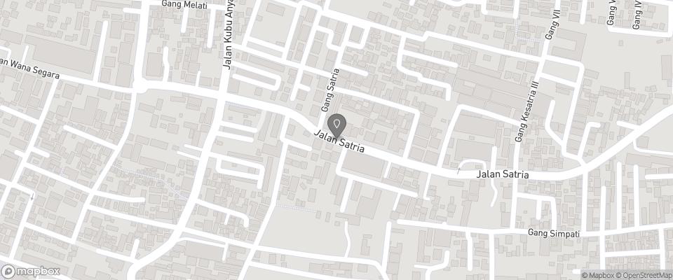 Map for Lokal Bali Hostel