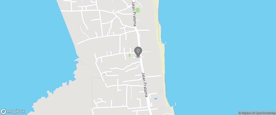 Map for Rumah Bali