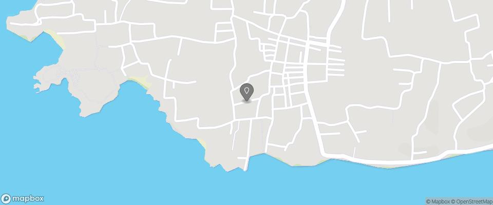 Map for Lembongan Hostel