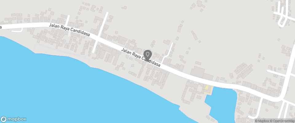 Map for Agung Bungalows