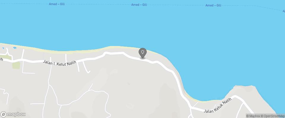 Map for Jukung Bali Bungalows