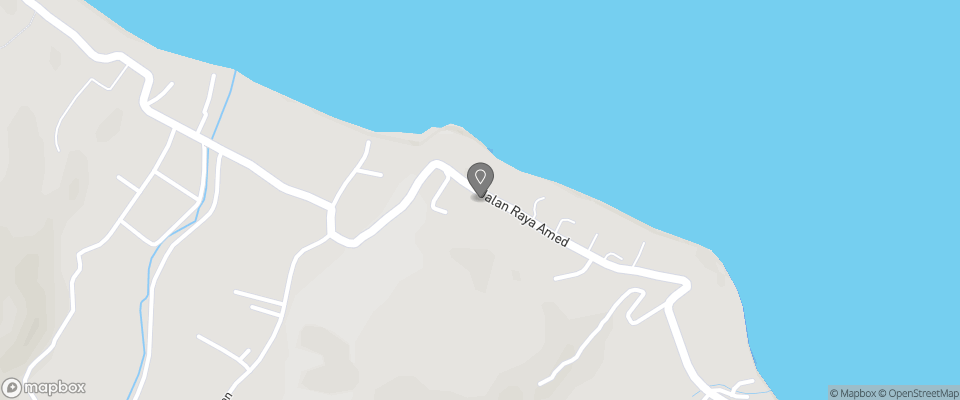 Map for Anda Amed Resort