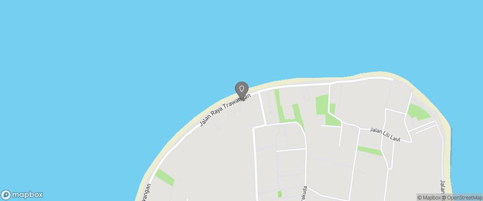 Map for Desa Dunia Beda Beach Resort