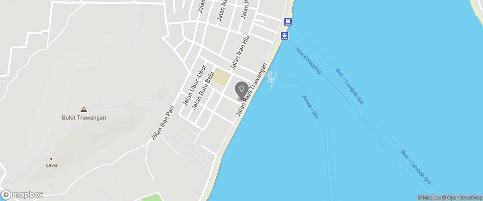 Map for Pesona Resort