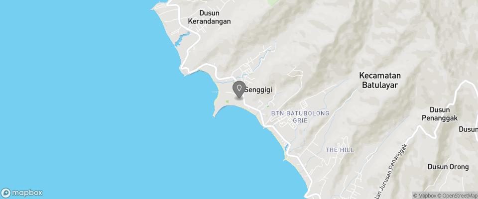 Map for Mascot Beach Resort