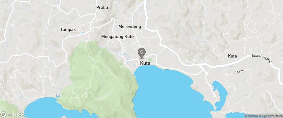 Map for Kuta Bay Homestay