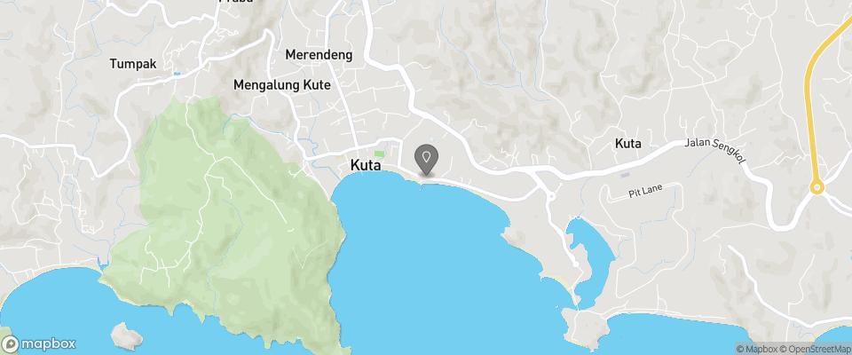 Map for Sekar Kuning Bungalows