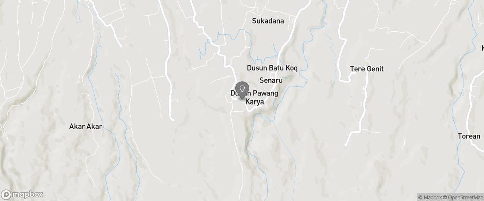 Map for Gunung Baru