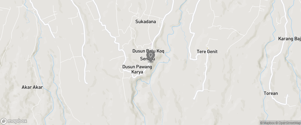 Map for Rinjani Lodge