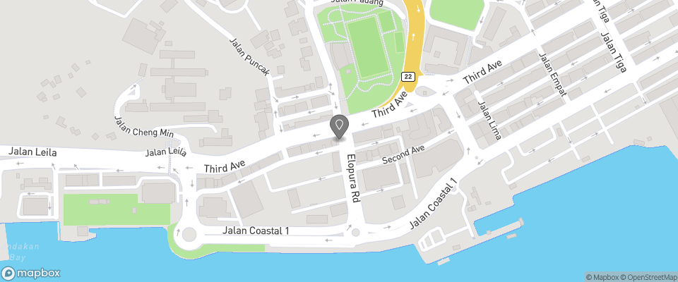 Map for Hotel Seafront