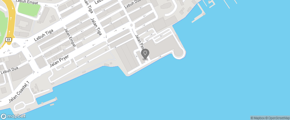 Map for Marine Bay Hotel