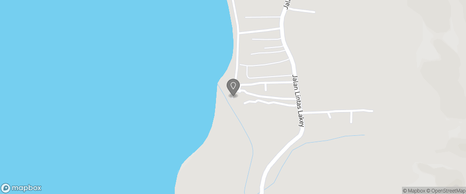 Map for Lakey Beach Inn