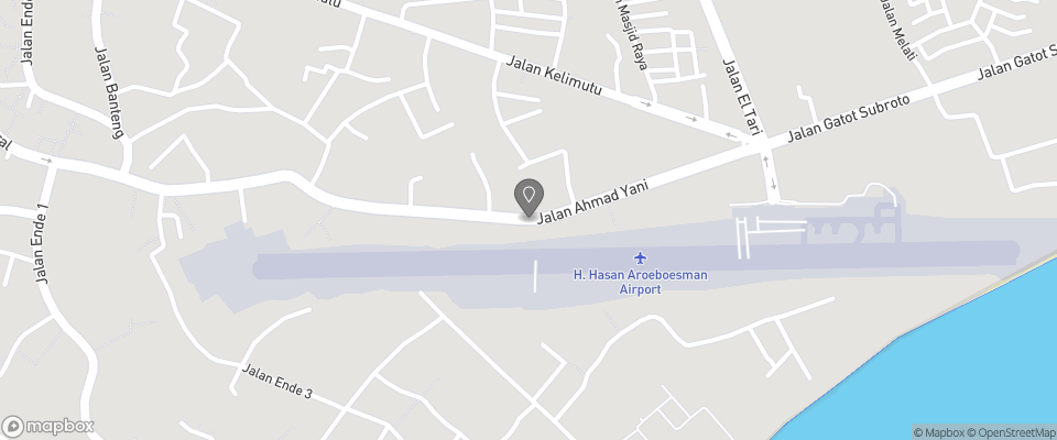 Map for Hotel Ikhlas