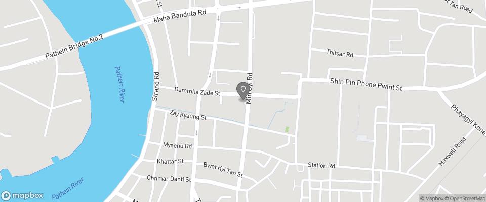 Map for Sein Pyae Hlyan Inn