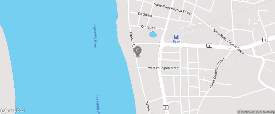 Map for Pyay Strand Hotel