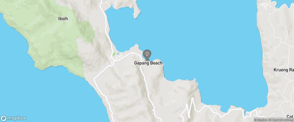Map for Lumba-Lumba Diving Centre