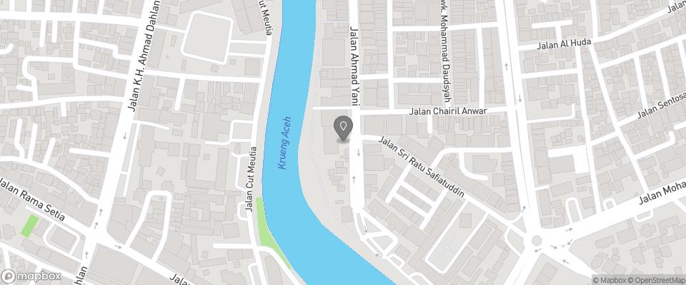 Map for Hotel Medan