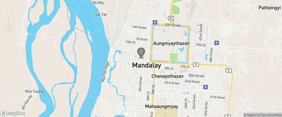 Map for Garden Hotel