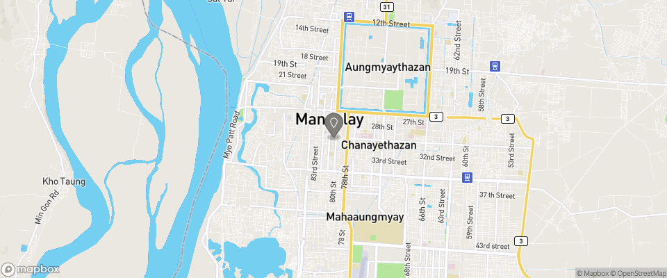 Map for Kaung Myint Hotel