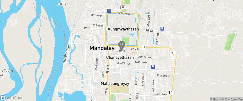 Map for Bagan King Hotel