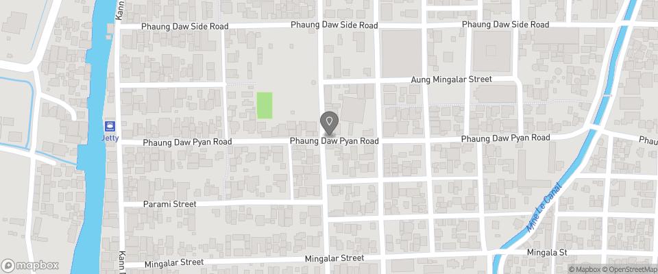 Map for NK Little Inn (Nawng Kham)