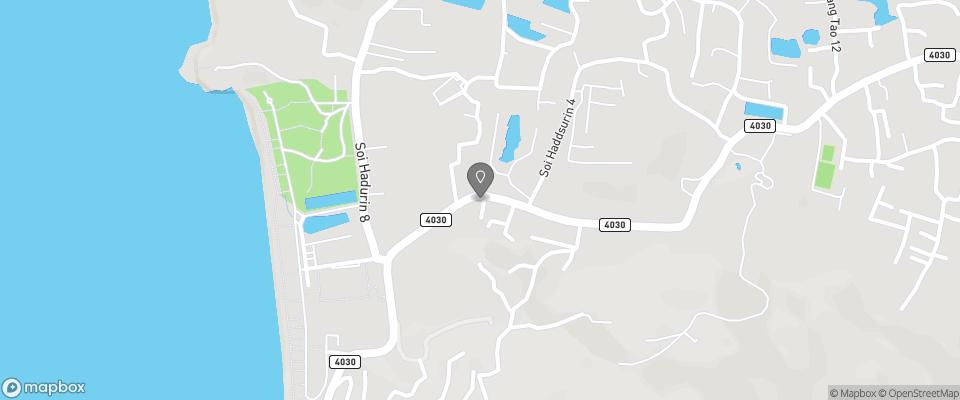 Map for Surin Sunset Inn