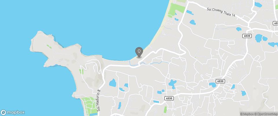 Map for Andaman Bangtao Bay Resort