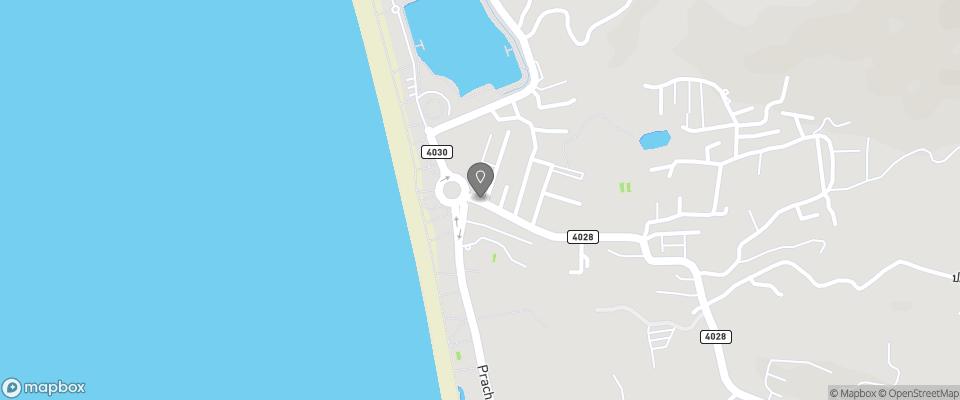 Map for Sugar Palm Karon Resort