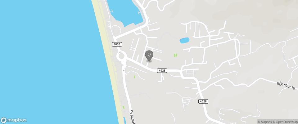 Map for Rattana Beach Hotel