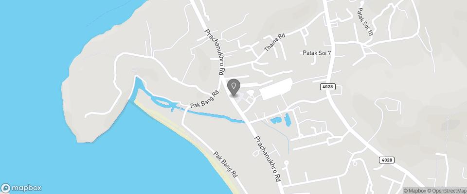 Map for Fin Hostel Phuket