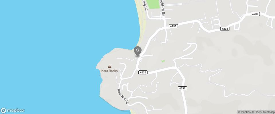 Map for Kata Sun Beach Inn