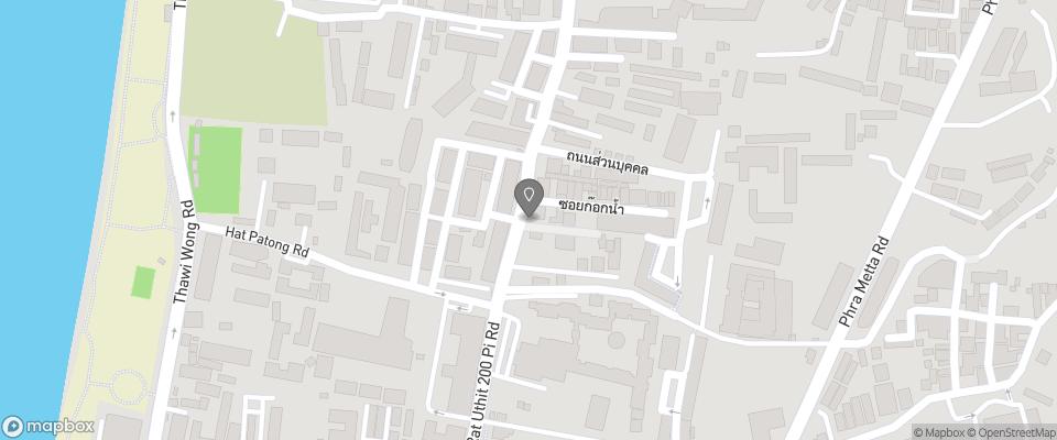 Map for Ruen Buathong Boutique Guesthouse