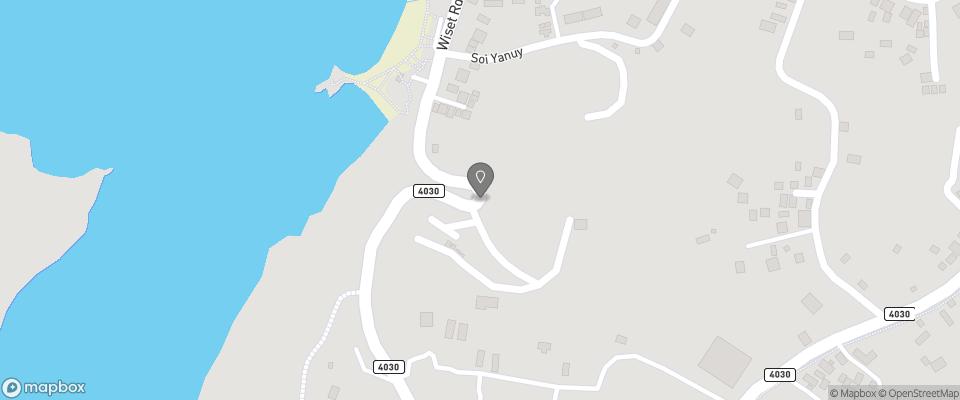 Map for Nai Ya Beach Bungalows