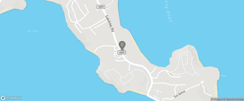 Map for Radisson Plaza Resort
