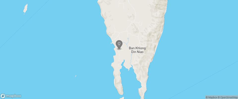 Map for Koh Yao Yai Activities Resort