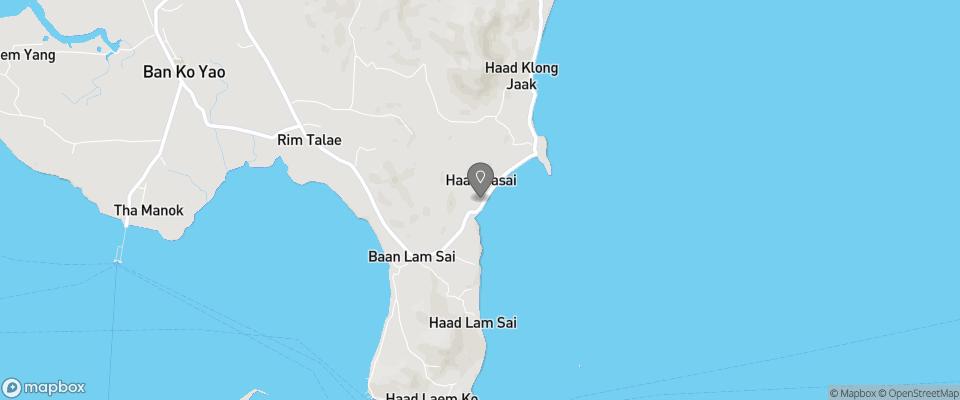 Map for Koh Yao Chukit Dachanan Resort