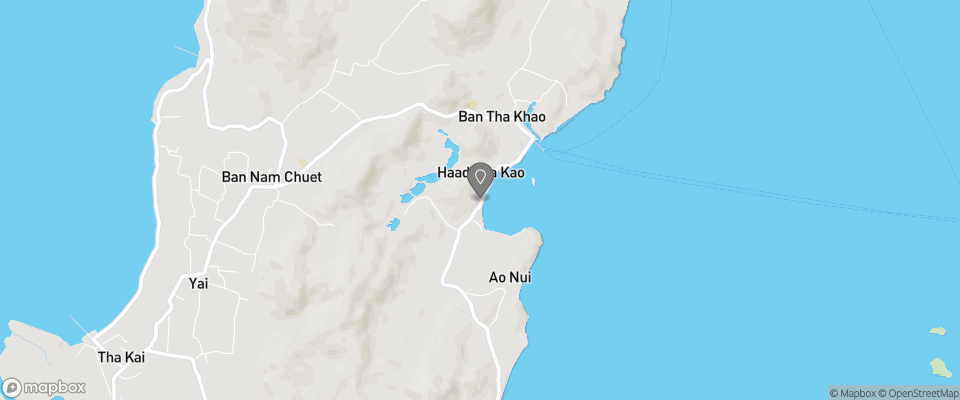 Map for Tha Khao Bay View Bungalow