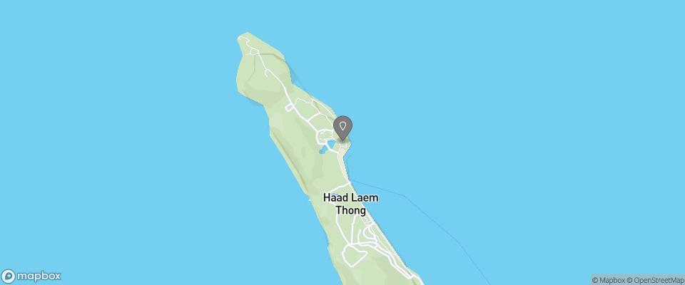 Map for Phi Phi Natural Resort