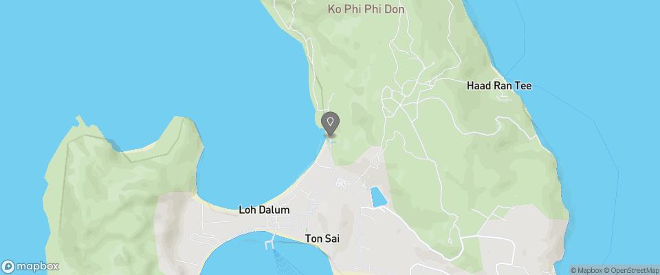 Map for Phi Phi Viewpoint Resort