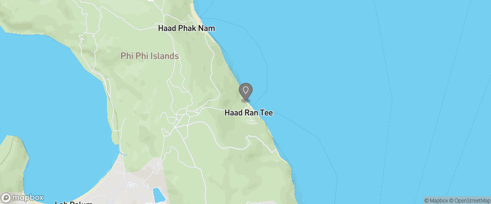 Map for Phi Phi Rantee Beach Resort