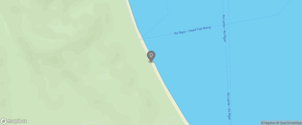 Map for Mayalay Beach Resort