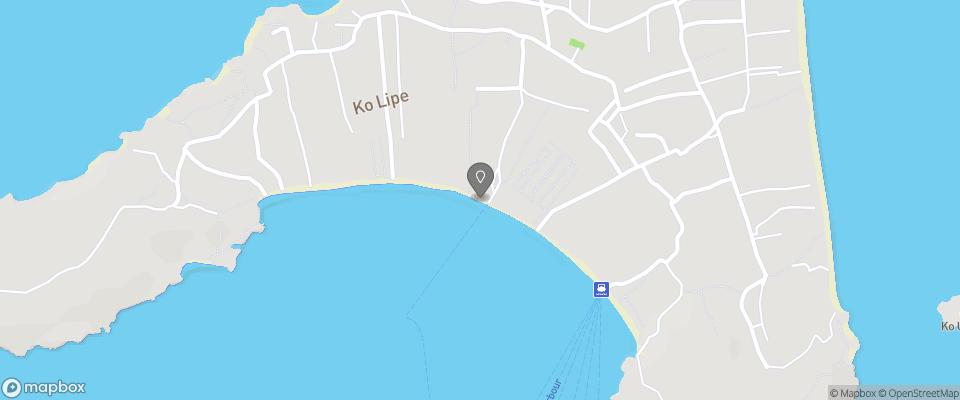 Map for Seaside Resort