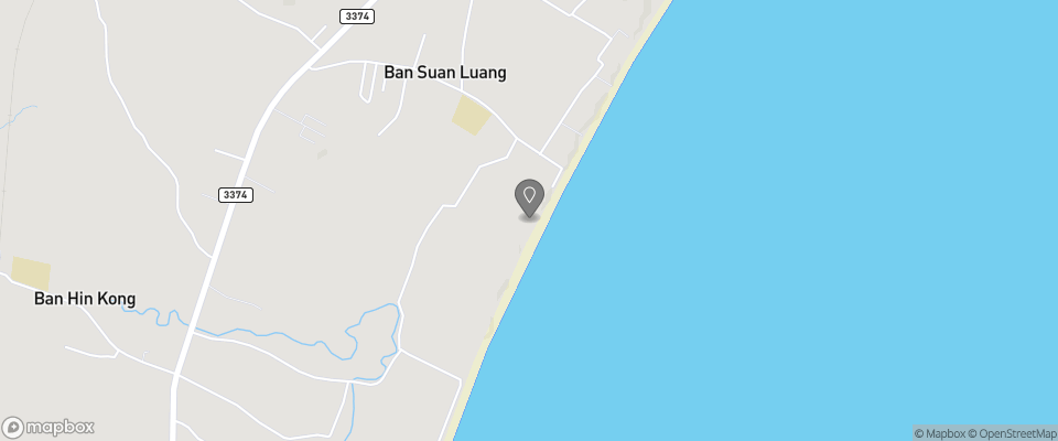 Map for Bang Saphan Beach Resort