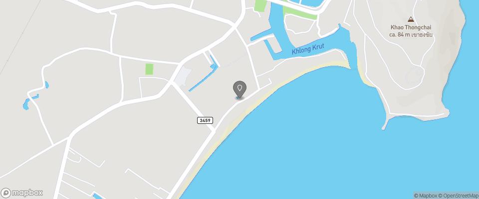 Map for Ban Krut Resort